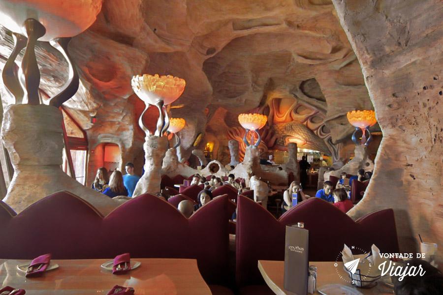 Disney - Mythos eleito diversas vezes o melhor restaurante de parque