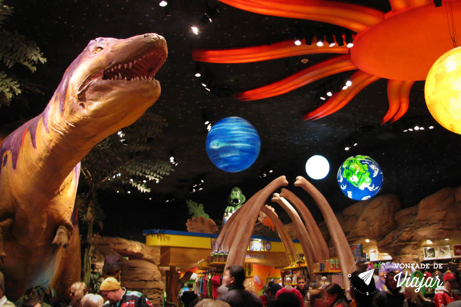 Disney - Restaurante T-Rex em Downton Disney