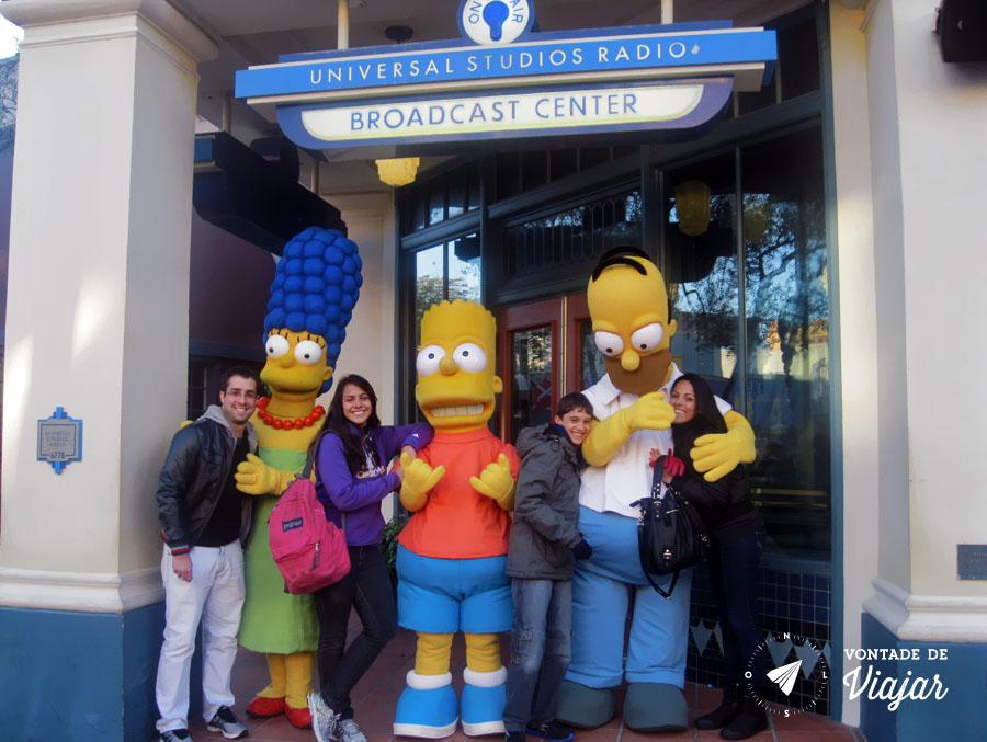 Disney - Simpsons Universal Studios