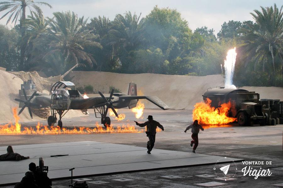 Disney - Stunt show Indiana Jones Hollywood Studios Duble
