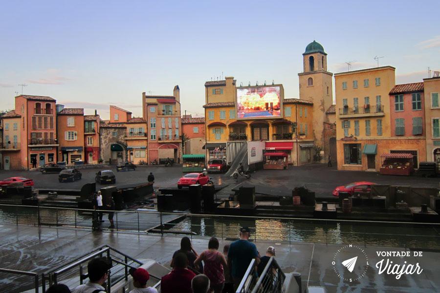 Disney - Stunt show de carros no Holywood Studios dubles