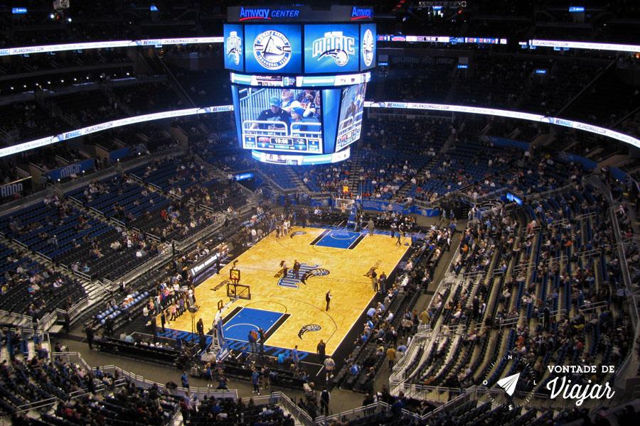 Disney - jogo da NBA Amway Center