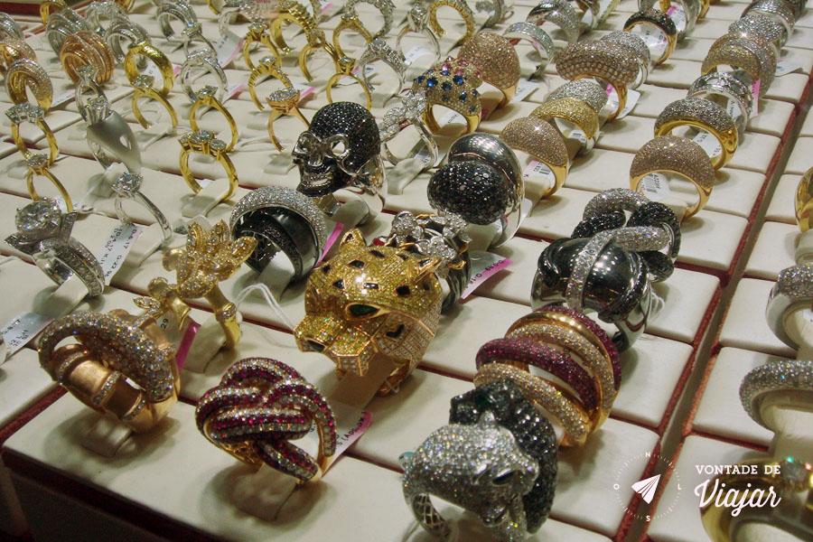 Dubai - Gold Souk - joias extravagantes