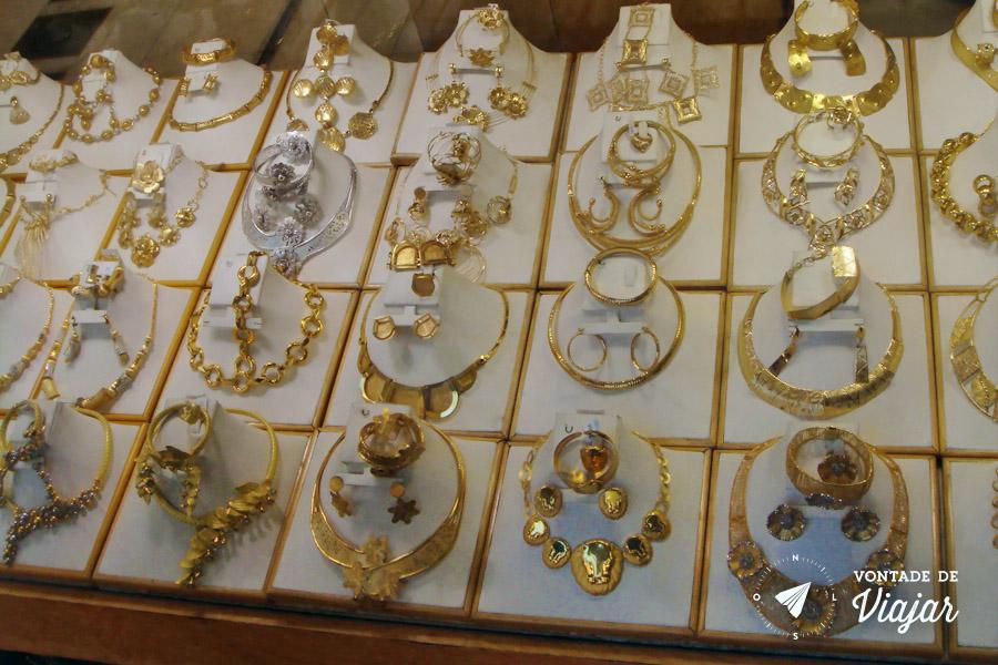 Dubai - Gold Souk - mercado de ouro