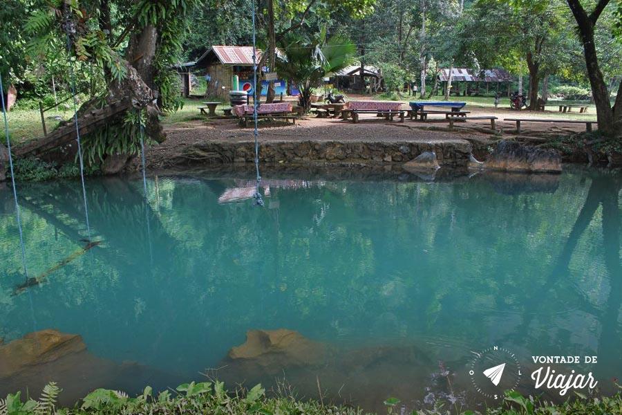 Vang Vieng Laos - Blue Lagoon