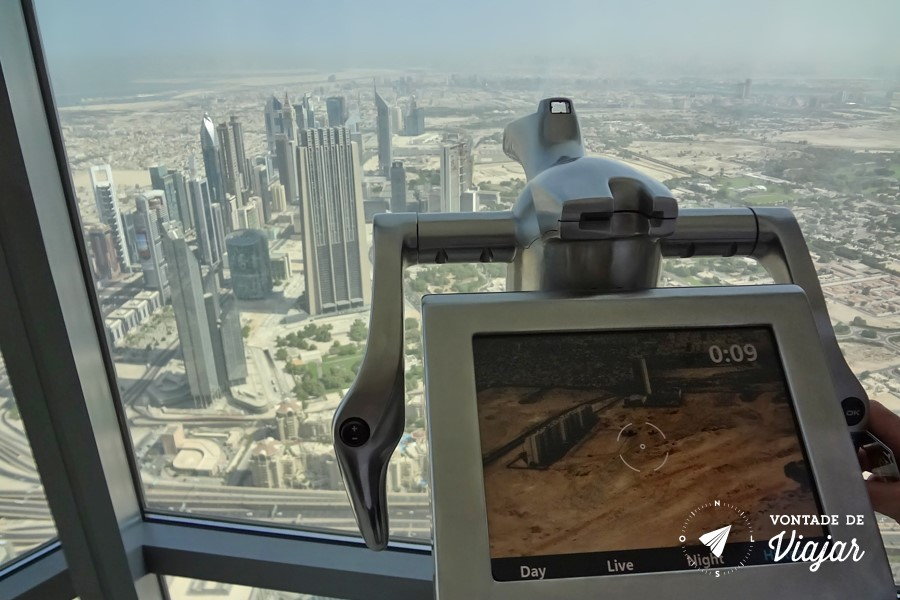 Dubai - Burj Al Khalifa - vista historica - centro ha 30 anos (foto do blog Vontade de Viajar)
