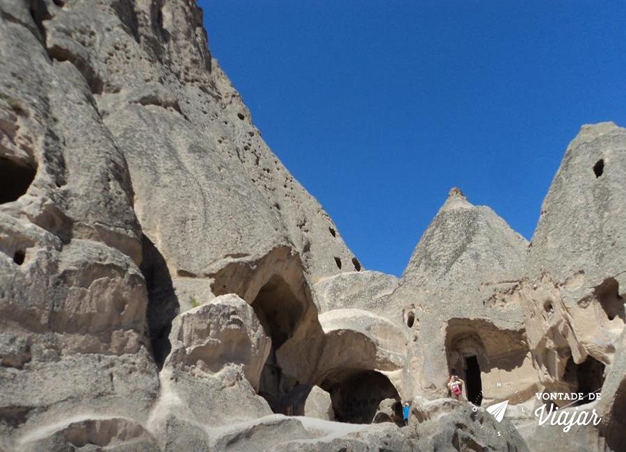 Turquia - Montanhas da Capadocia
