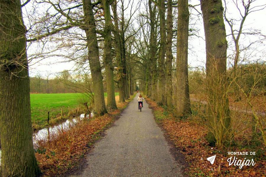 Dicas da Holanda - Bicicleta no interior da Holanda