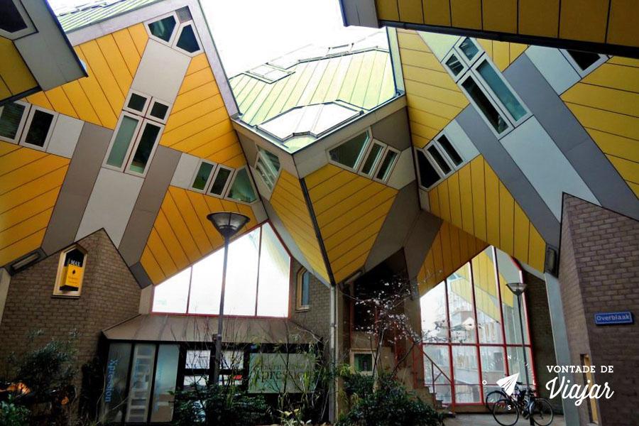 Dicas da Holanda - Casas Cubo em Rotterdam