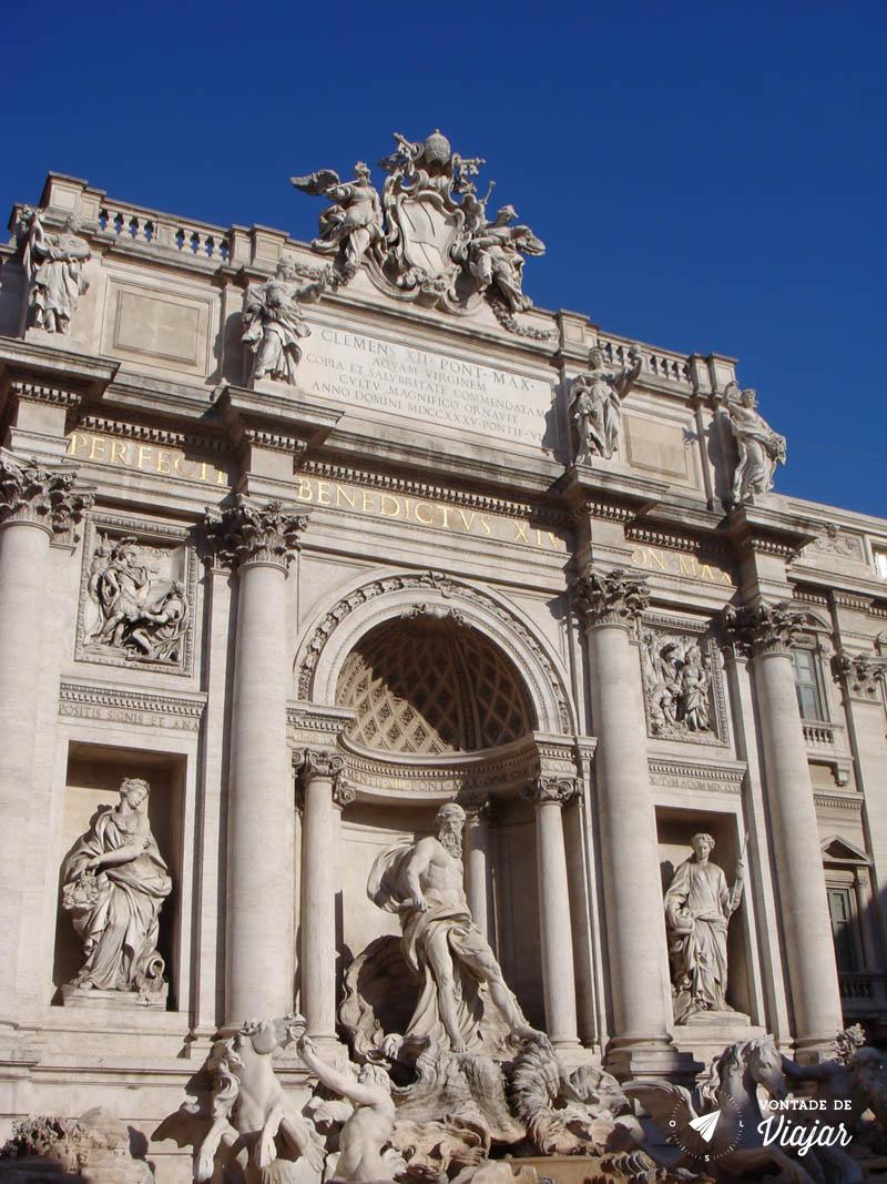 O que fazer em Roma - Fontana di Trevi
