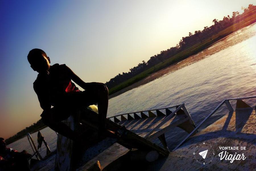 Egito - Barco no Rio Nilo