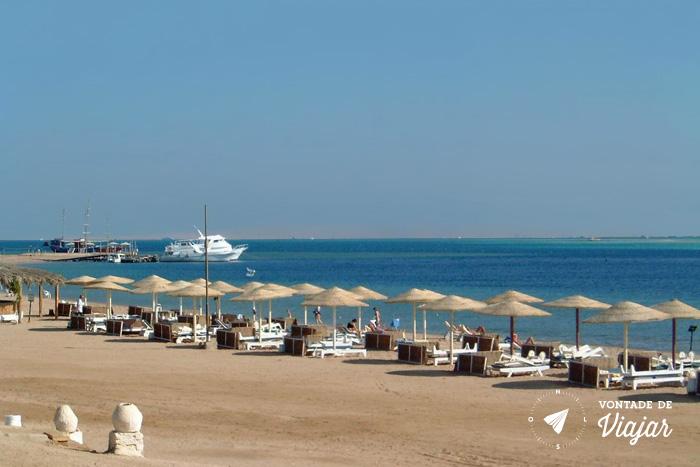 Egito - Hurghada Praia no Mar Vermelho