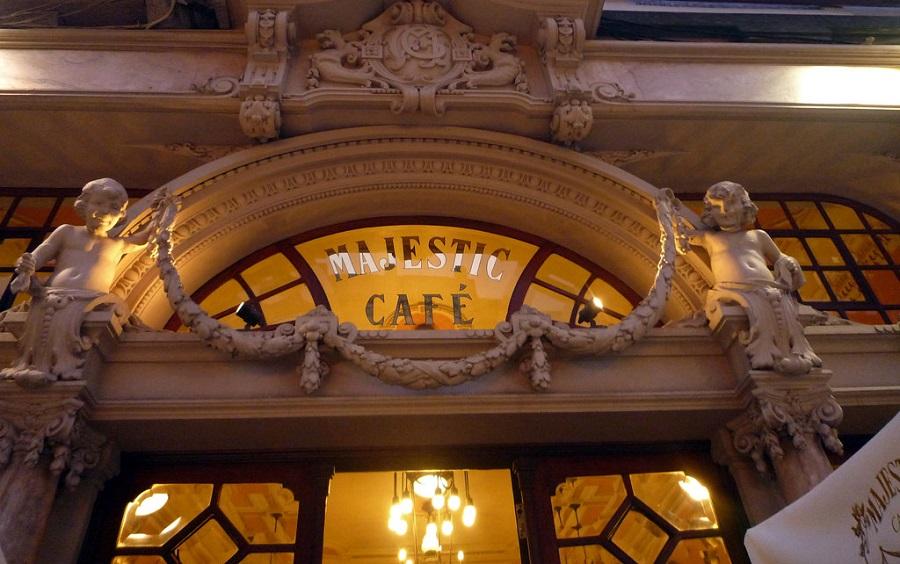 Portugal - Cafe Majestic Porto - Foto Jose Luis Gil