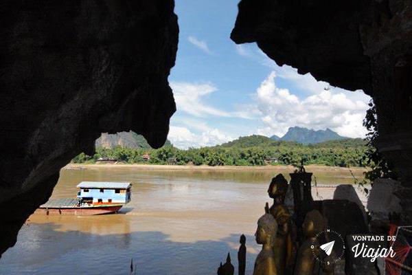 Rio Mekong - Caverna Pak Ou Laos