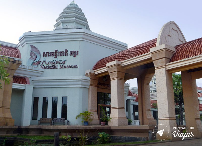 Angkor Wat - Museu Angkor conta historia do templo Khmer