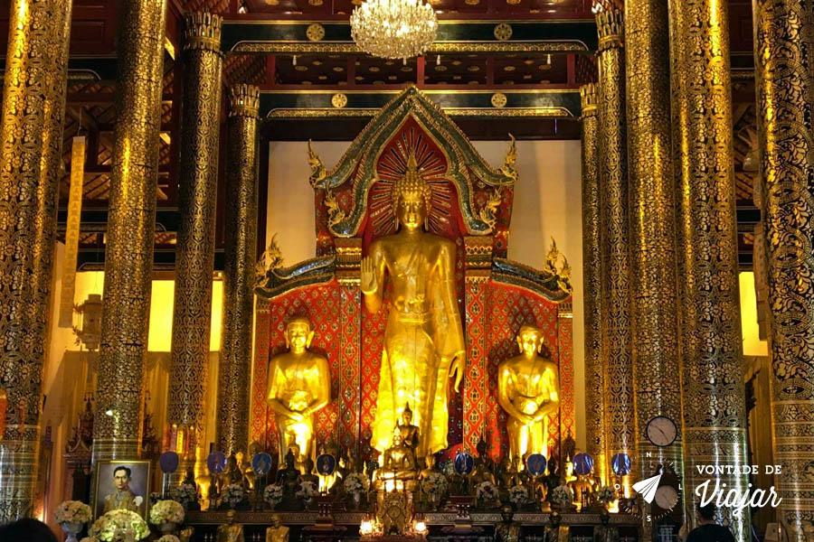 Chiang Mai Tailandia - Templo em Chiang Mai - Foto Flavio Albuquerque