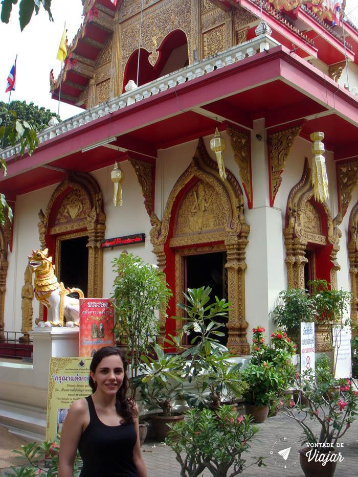 Chiang Mai Tailandia - Templo em Chiang Mai