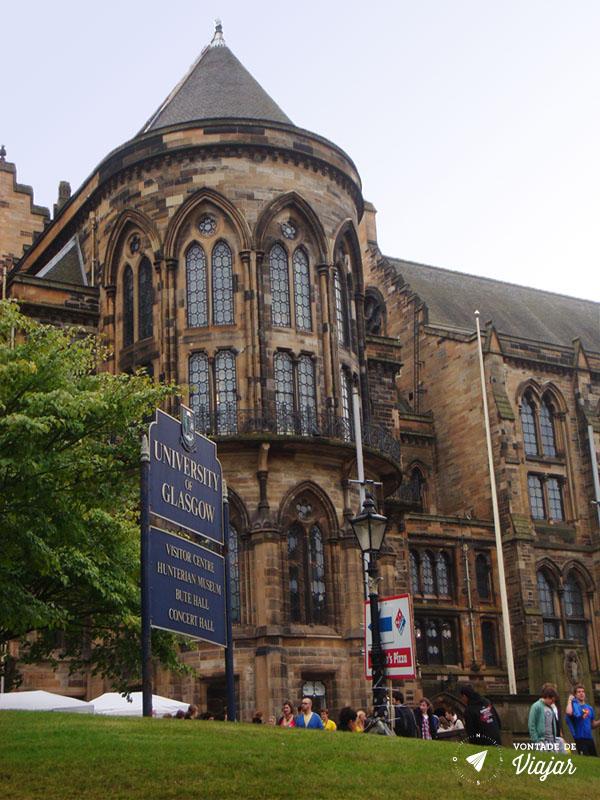 Universidades do mundo - Universidade de Glasgow Escocia