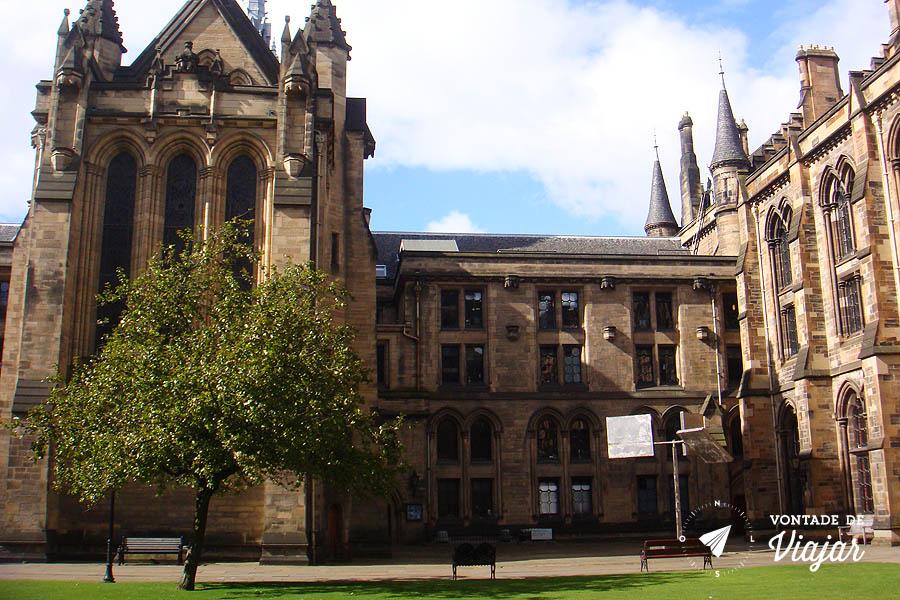 Universidades do mundo - Universidade de Glasgow na Escocia
