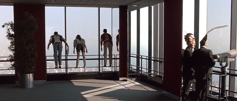 Chicago - Ferris torre Skydeck da Willis Tower