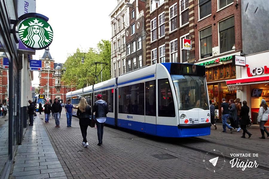 Dicas da Holanda - Tram em Amsterdam