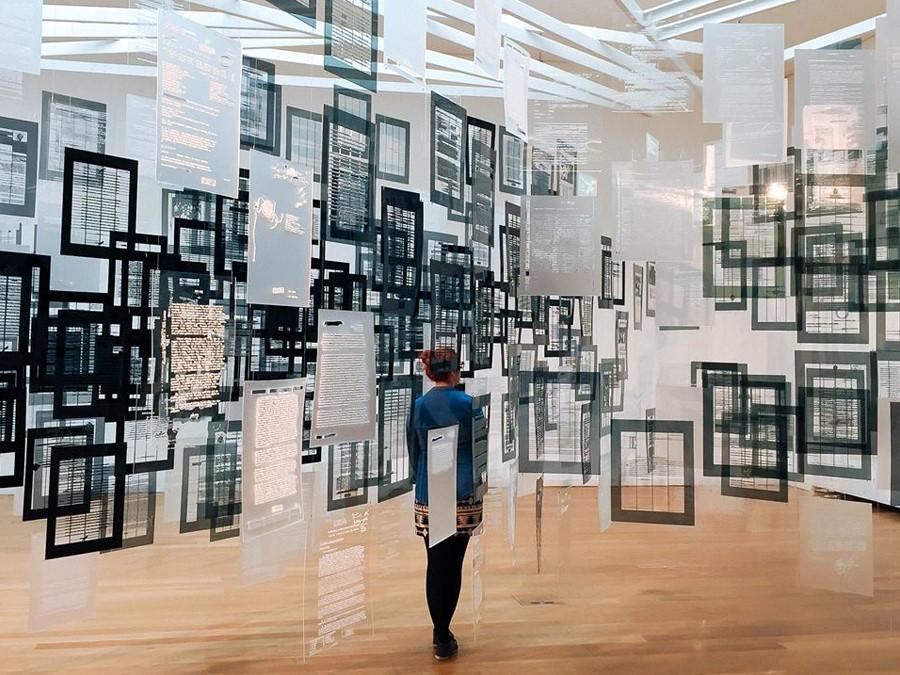 Museu Serralves Porto - Exposicao Bienal SP 2015 - foto Facebook oficial Fundacao Serralves