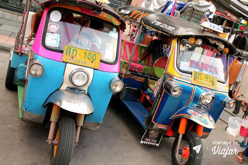 Tailandia - Tuktuk em Bangkok