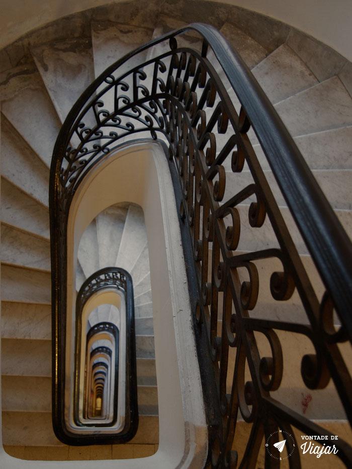 Buenos Aires - Palacio Barolo escada