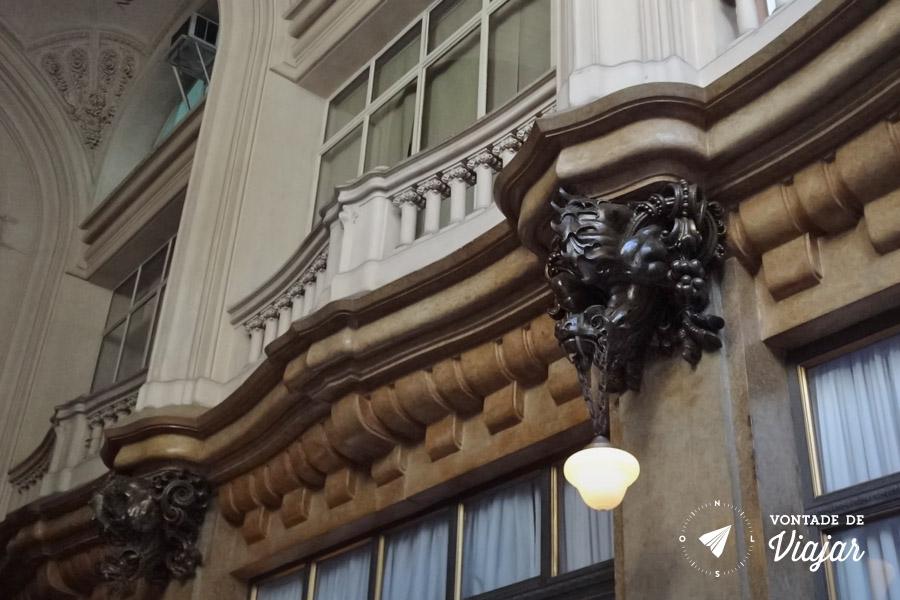 Buenos Aires - Palacio Barolo gargula