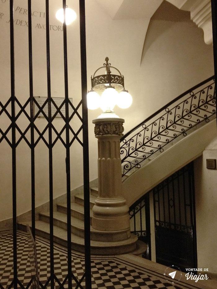 Buenos Aires - Palacio Barolo hall