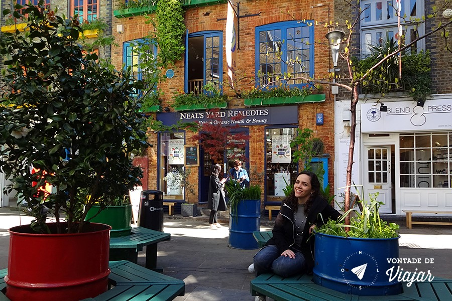Londres Covent Garden - Nanda no Neals Yard