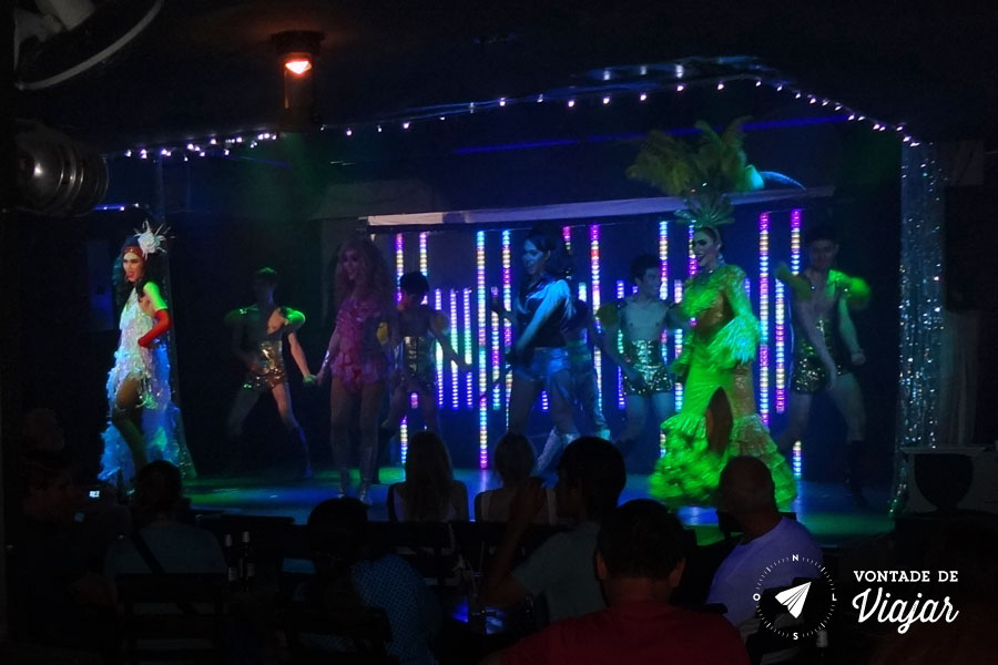 Mercados da Asia - Chiang Mai Lady Boys Show Tailandia