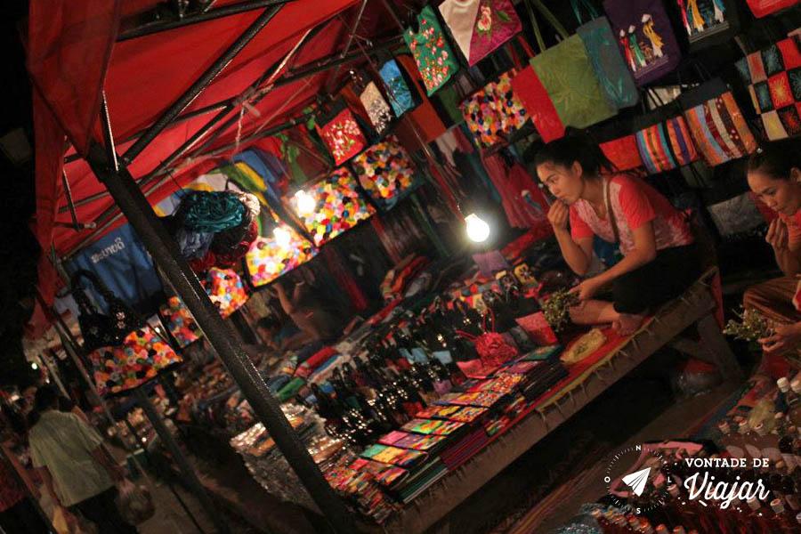 Mercados da Asia - Night Market Luang Prabang