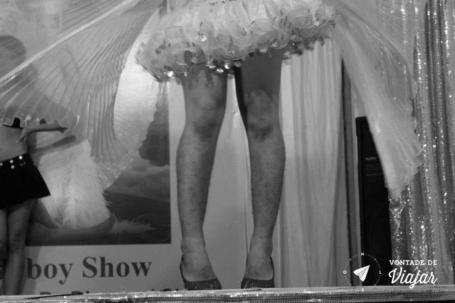 Mercados da Asia - Siem Reap Lady Boys Show