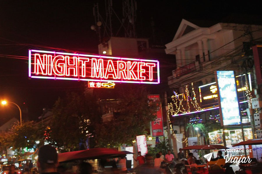 Mercados da Asia - Siem Reap Night Market