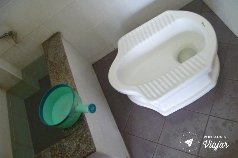 Sudeste Asiatico - Banheiro asiatico na Tailandia