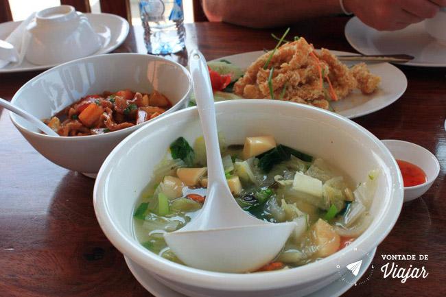 Sudeste Asiatico - Comida no Laos