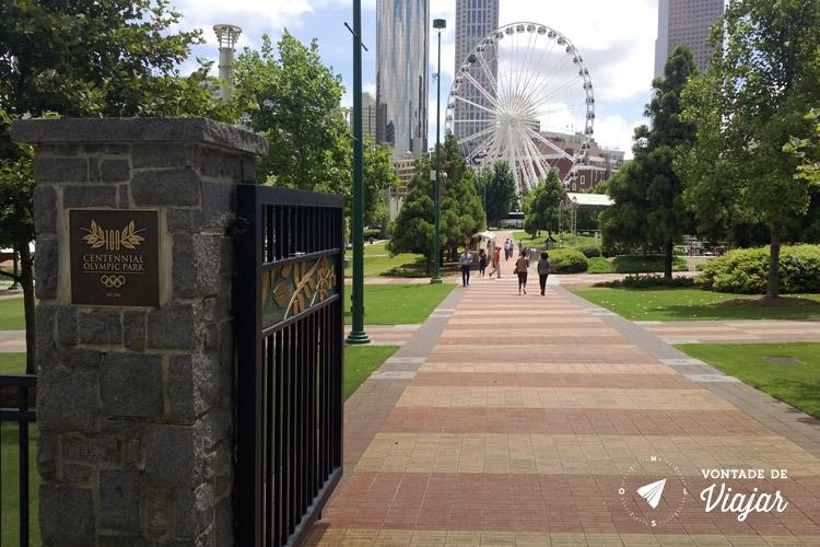 O que fazer em Atlanta - Centennial Olympic Park