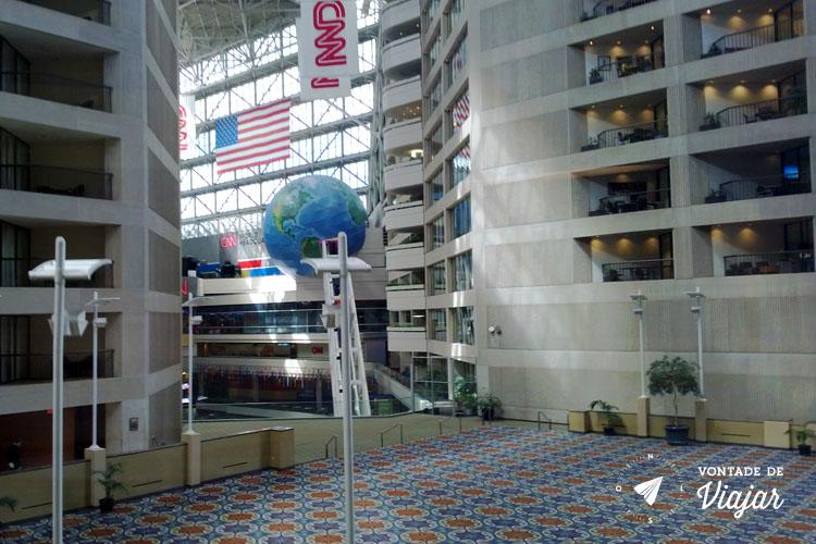 O que fazer em Atlanta - sede da CNN