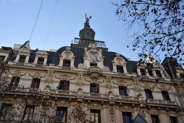 Buenos Aires - Av de Mayo - Edificio La Prensa - Foto Brian J McMorrow