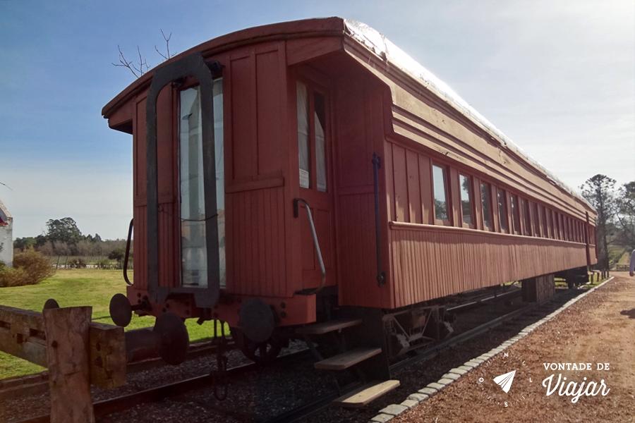 Uruguai - Bodega Bouza - Trem