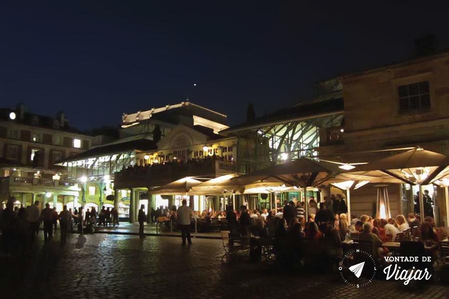 Covent Garden - bares a noite