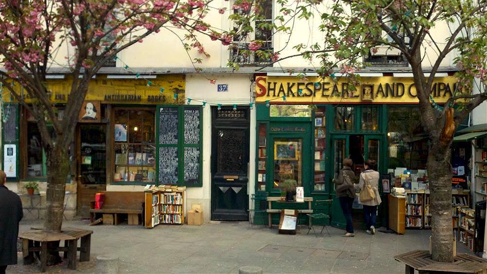 Livraria Shakespeare and Company Paris - Foto Mike Peel