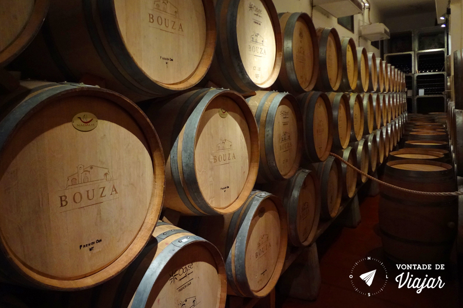 Uruguai - Bodega Bouza - barril (foto do blog Vontade de Viajar)