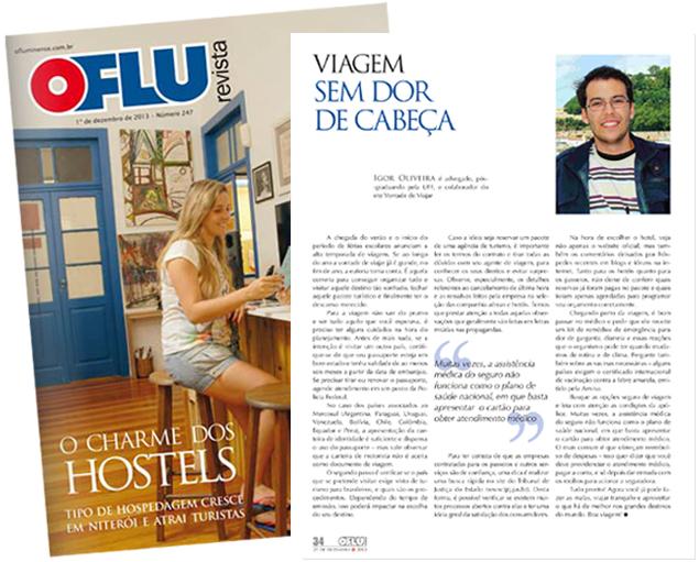 clipping 2013.12.29 Revista O Fluminense - Artigo Viagem