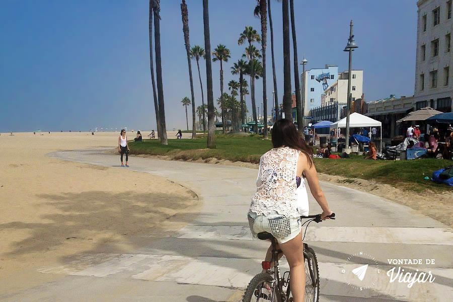 Los Angeles - Bicicleta de Venice a Santa Monica
