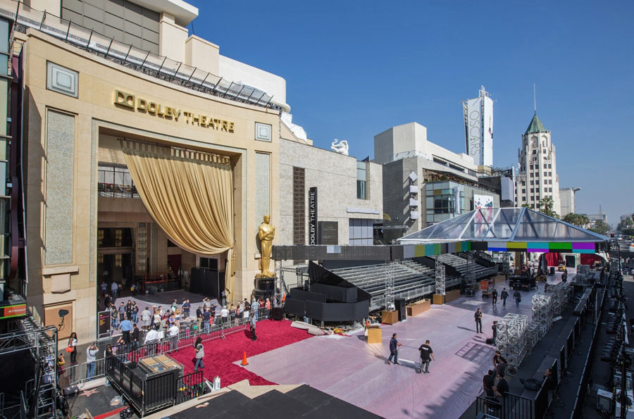 Los Angeles - Dolby Theatre Hollywood Oscar - Foto via Forbes