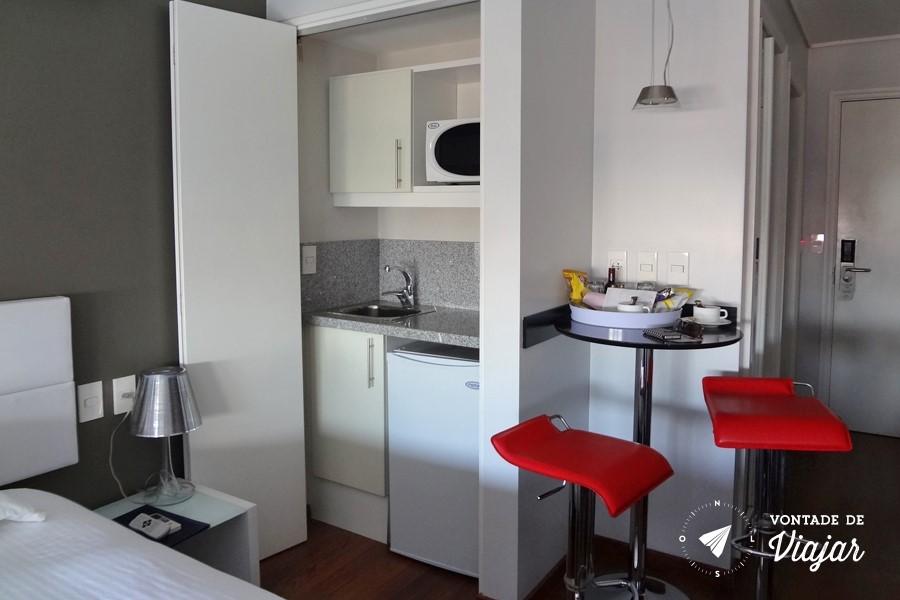 Montevideu - Regency Golf Hotel Urbano - suite com mini cozinha