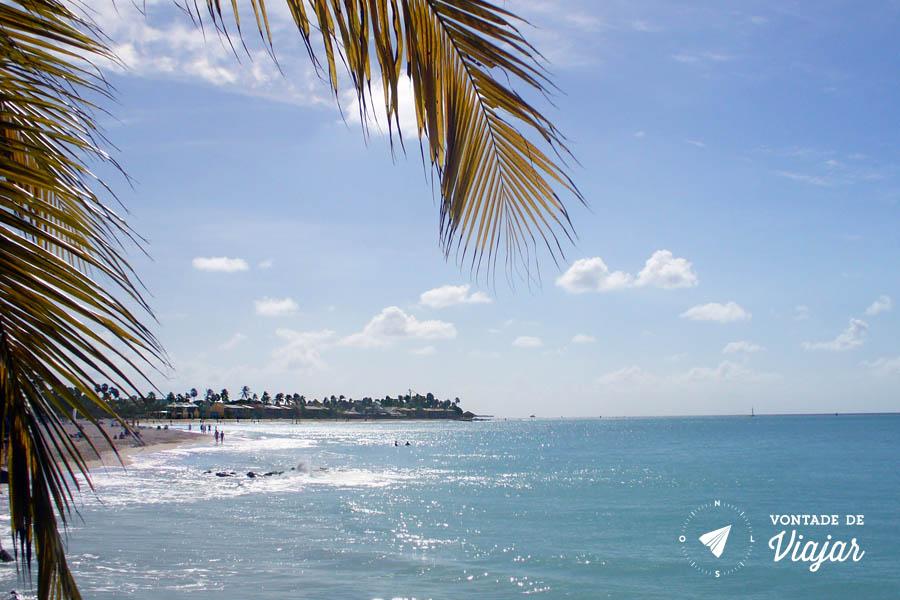 Aruba - Praia tranquila paraiso