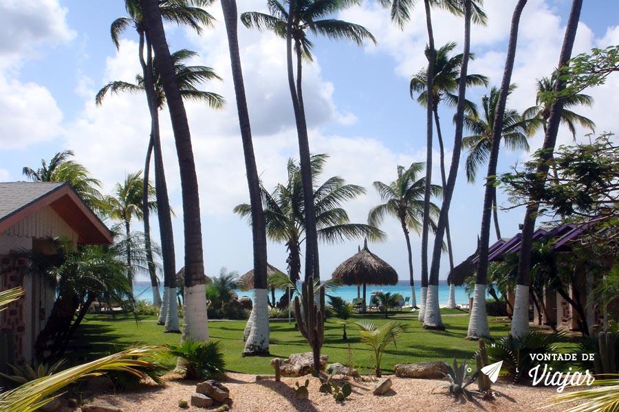Aruba - Resort em Aruba na praia de Palm Beach